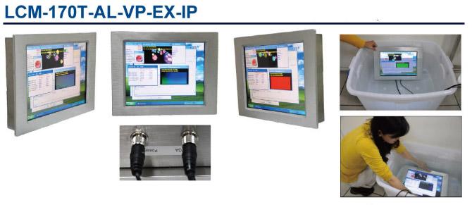 完全防水、防爆型(2時間まで1Mまでの水中に放置可能)(IP-66)