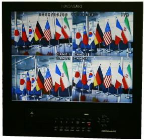モニター一体型デジタルビデオレコーダー