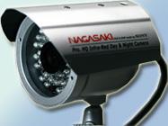 CCTV カメラ : 4x 高解像CCD 赤外線カメラ