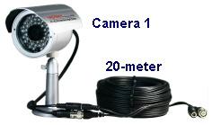 4本のビデオ電源ケーブル